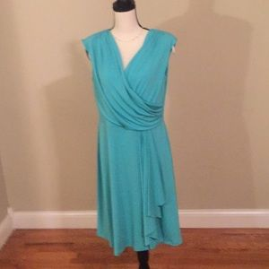 ABG dress size 14 teal color
